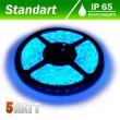 Светодиодная лента B-LED 24V 5050-60 B IP65 синий, герметичная, 1м