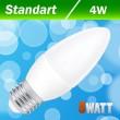 Светодиодная лампа Biom BT-548 C37 4W E27 4500К матовая