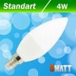 Светодиодная лампа Biom BT-550 C37 4W E14 4500К матовая